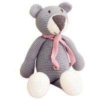 Grey Organic Teddy Bear