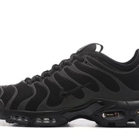 Nike Air Max Plus Tn Ultra Sport Shoes Casual Sneakers - Black