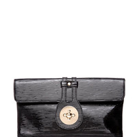 Patent Leatherette Clutch