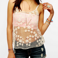 Urban Outfitters - Ecote Flutter Flower Cami