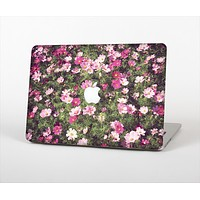 "The Vintage Pink Floral Field Skin Set for the Apple MacBook Pro 13"" with Retina Display"