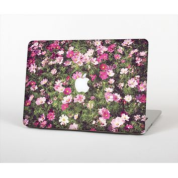 The Vintage Pink Floral Field Skin Set for the Apple MacBook Air 13""