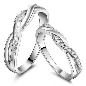 Unique Personalized Curved Wedding Bands for Couples Personalized Couples Jewelry | Occasions Uncommon Gifts | Unique Phone Cases | Worldwide Shipping