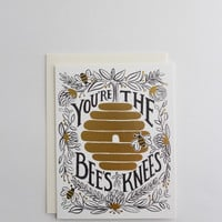 You're the Bee's Knees Greeting Card