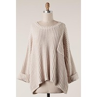 This Is Love Sweater (Taupe)