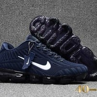 Nike air Vapormax Blue/White Cushion Shoes Size 40-47