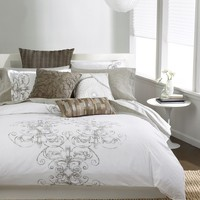 bar III™ Bedding, Vintage Scroll Twin Comforter - Bedding Collections - Bed & Bath - Macy's