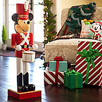 Mickey Mouse Toy Soldier Nutcracker Figure - Large