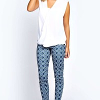 Harriet Printed Scuba Treggings