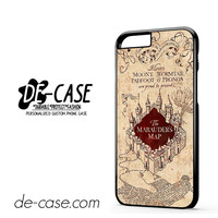 Harry Potter Marauders Map For Iphone 6 Iphone 6S Iphone 6 Plus Iphone 6S Plus Case Phone Case Gift Present YO