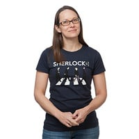 Sherlock Abbey Road Ladies' Tee - Exclusive