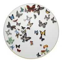 Vista Alegre Christian Lacroix Butterfly Parade Charger Plate