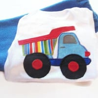 Baby Boy Outfit - Baby Dump Truck Clothes - Baby Boy Fashion - Baby Boy Winter Clothes - Cute Baby Boy Clothes - Baby Boy Gift