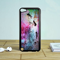 Disney New Peter Pan Quote Galaxy iPod Touch 5 Case Sintawaty.com