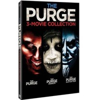 The Purge Collection: The Purge / The Purge: Anarchy / The Purge: Election Year - Walmart.com