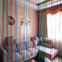 Best Price For Home Decor Rainbow Window Curtain Room Door Divider String Line Panel Curtain