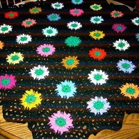Crochet Blanket and Shawl HEXIGAN Cuddle blanket (nannycheryl original) ID 638
