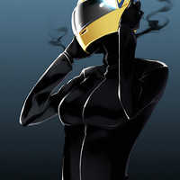 Durarara Celty Anime Girl Poster