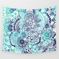 Hippie Vibes Wall Tapestry by rskinner1122