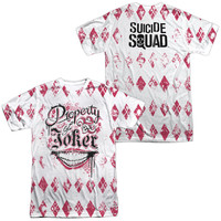Suicide Squad Property Of Joker Sublimated Mens T-Shirt