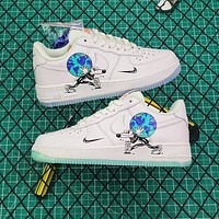 Steven Harrington X Nike Air Force 1 Low Flyleather Qs Earth Day Sneakers