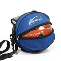 Outdoor Sports Shoulder Soccer Ball Bags Nylon Football Volleyball Basketball Bag Portable Training Equipment Accessories