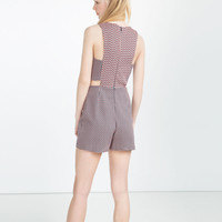 JUMPSUIT DRESS WITH CUT-OUTS