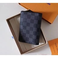 Louis Vuitton Fashion Credit Card Passport Folder Bag