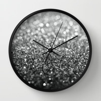 Eclipse Wall Clock by Lisa Argyropoulos