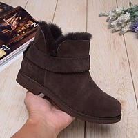 Ugg 1012358 Chocolate Classic Street Mckay Snow Boots