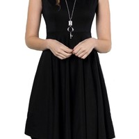 Fit and Flare A-Line Dress