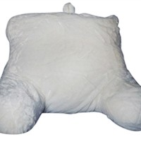 Plush Ivory Bedrest - Twin XL Bedding Support