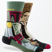 Stance - Disney Star Wars Bounty Crew Socks - Mens Socks - Green - One
