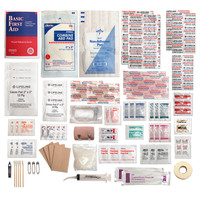 Lifeline Trail Light 5 Survival First Aid Kit 99 Pieces