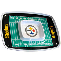 Pittsburgh Steelers NFL Chip & Dip Tray