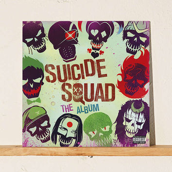 Various Artists - Suicide Squad: The Album LP - Urban Outfitters