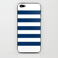 Nautical Stripes iPhone & iPod Skin by M Studio