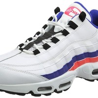 NIKE Mens Air Max 95 Essential Leather Trainers