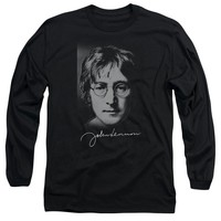 John Lennon - Sketch Long Sleeve Adult 18/1
