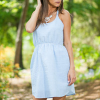 Simply Southern Dress, Blue