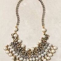 Spiked Beads Bib Necklace - Anthropologie.com