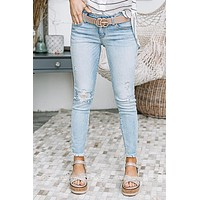 Amy Grace Low Rise Super Skinny Jeans