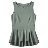 Mossimo® Women's Studded Peplum Top - Assorted Colors