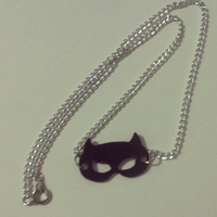 Catwoman Mask Chain Necklace