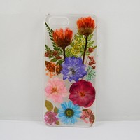 LoveDiyLife Real pressed flower Calendula rose Daisy and leaf case (case for iphone 6/4.7)