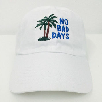 No Bad Days Hat - White