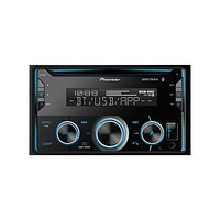 Pioneer - FH-S520BT Double-DIN In-Dash CD Receiver with Bluetooth(R)