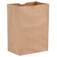 12 x 7 x 17 Brown Paper Grocery Bags/Case of 500