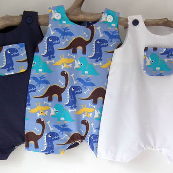 Newborn Baby Boy Clothes Dinosaur Newborn Rompers Summer Sunsuit Baby Shower Coming Home Outfit Bringing Baby Home