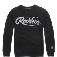Young and Reckless Big R Script Crew Fleece at PacSun.com